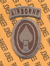 USSOCOM US Special Operations Command Airborne Multi Cam patch c/e