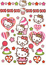 HELLO KITTY ~47 GLITTERING TEMPORARY BODY TATTOOS~