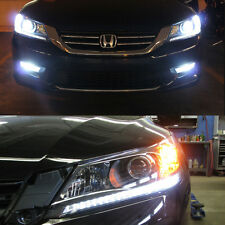 Bright Switchback DRL Parking Signal LED + Resistors for 2013-2015 Accord SEDAN