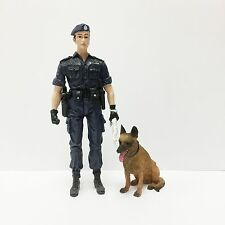 1/18 SWAT Hong Kong Police Dog Unit Soldier Military 4 Inch Action Figure