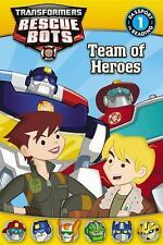 Transformers:  Rescue Bots: Team of Heroes Passport to Reading Level 1)