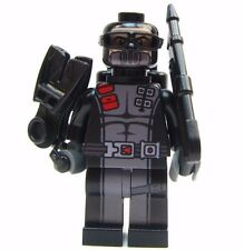 Lego GI Joe Custom - - - - -TORPEDO- - - - Snake eyes Navy seal diver soldier