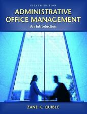 ADMINISTRATIVE OFFICE MANAGEMENT - ZANE QUIBLE 2004
