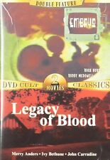 Double Feature: Embryo/Legacy Of Blood (Slimline DVD, 2005) BRAND NEW SEALED DVD