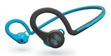 Plantronics BackBeat Fit Bluetooth Wireless Headphones Sweat-Proof Blue Black