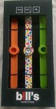 BILL'S WATCH MINI PKMCL03 LOCK SLAP BRACELET BNIB WARRANTY B!LL'S WATCHES