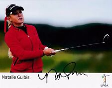 Natalie Gulbis #2 autographed 8x10 Photo Free Shipping