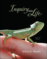 Inquiry into Life by Sylvia Mader