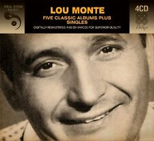 Lou Monte FIVE (5) CLASSIC ALBUMS + SINGLES Pepino, The Italian Mouse NEW 4 CD