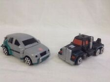 Tranformers RID X-BRAWN vs. SCOURGE 2002 spy changers robots in disguise