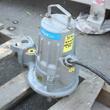 Flygt 3 phase 1.7kw 2.3hp Submersible Portable Solids Pump 3068 170 0301 214