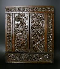 XVIIe Cadre Glace bois RENAISSANCE HAUTE EPOQUE 17th century wood carving frame