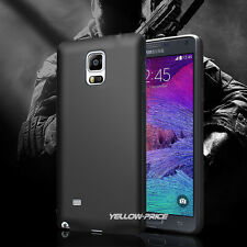 PREMIUM SLIM MATTE BACK SOFT TPU CASE COVER FOR Samsung Galaxy Note 4 N9100 CA