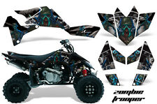 Suzuki LTR 450 AMR Racing Graphic Kit Wrap Quad Decals ATV 2006-2009 ZOMBIE BLK