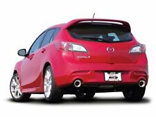 """Borla Dual 2.75"""" SS Rear Section Exhaust for 2010-2013 Mazda 3 2.5/2.3L"""