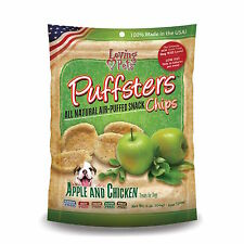 Loving Pets Puffsters Apple & Chicken Chips 4oz bag