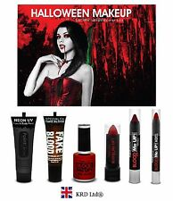 Genuine PaintGlow BLOOD ME UP Halloween MAKE UP SET Fake Stage Film Body Eye