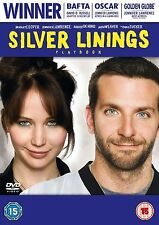 Silver Linings Playbook (GENUINE UK DVD PAL) Jennifer Lawrence - NEW + FREE P&P