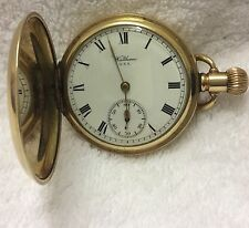 Vintage Waltham U.S.A. Pocket watch 14ct Gold Plate Case