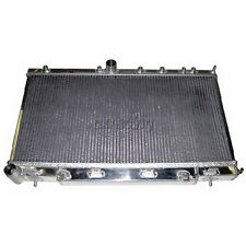 "CXRACING Aluminum 2.5"" Core Radiator For 2002 Subaru Impreza WRX 2.0L MT"