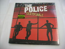 POLICE - CERTIFIABLE - 3LP VINYL NEW SEALED 2008