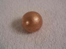 Copper sphere 1.125 inch diameter 4 plus ounces solid copper Michigan 1 1/8 in