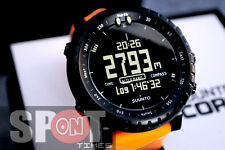 Suunto Core Orange Black Computer Unisex Watch SS015914000