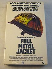 """Full Metal Jacket"" BETAMAX (Beta) movie NEW!!! SEALED!!! NOS!!! Stanley Kubrick"