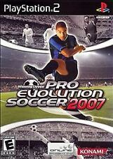 Winning Eleven: Pro Evolution Soccer 2007 playstation 2 ps2