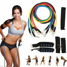 New 1Pc Fitness Equipment Resistance Bands Tube Workout Exercise Yoga Training