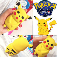 Pikachu Power Bank Charger External Battery Portable Pokemon Go Easy Carry #04