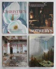 4 Christie's Sotheby's NY Auction Catalogs w/ American Artist Painting (s) NR!