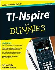 TI-Nspire For Dummies by McCalla, Jeff; Ouellette, Steve