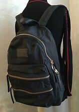 Chic!!!***NWT Marc By Marc Jacobs Domo Arigato Packrat Backpack Black Nylon Gold