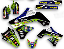 2009 2010 2011 KXF 450 GRAPHICS KIT KAWASAKI KX450F KX F 450F MX  GRAPHIC KXF450