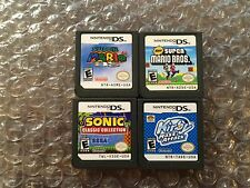 New Super Mario Bros + 64 DS + Kirby Mass Attack + Sonic Classic (DS LOT) Carts