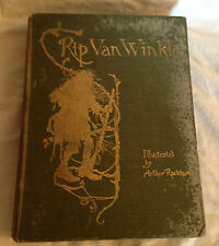 Arthur Rackham / Washington Irving, Rip Van Winkle - 1910, 51 Illustrated Plates