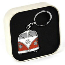 NEW OFFICIAL VW T1 Bus Camper Van Classic Retro / Vintage Chrome Keyring BUKH04