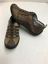 PRIVO By Clarks Women's Tan Brown Leather Casual Shoes Size 8M