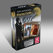 007 James Bond 50th Anniversary Movies 12-22 Playing Cards Deck New
