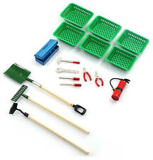 Yeah Racing 1/10 RC Crawler Accessory Shovel / Hoe / Extinguisher / Tools