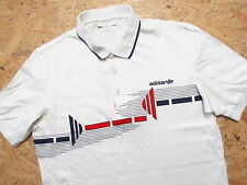 MEN'S ADIDAS VINTAGE SHORT SLEEVE POLO SHIRT SIZE  50 M GENUINE WEST GERMANY