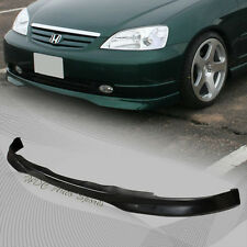 For 2001-2003 Honda Civic Type-R Style JDM Polyurethane Front Lower Bumper Lip