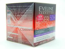 EVELINE LASER PRECISION 50+ INTENSELY LIFTING DAY AND NIGHT CREAM CONCENTRATE