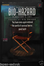 JAPAN Resident Evil Director's Cut Biohazard Perfect Guide