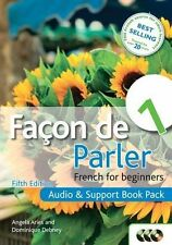 Facon de Parler Bk. 1, Pack : French for Beginners by Angela Aries and...