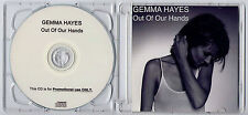 GEMMA HAYES Out Of Our Hands 2008 UK 1-trk promo test CD