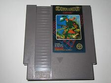 Commando (Nintendo NES, 1986) 5 Screw Variant