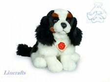Sitting King Charles Spaniel Plush Soft Toy by Teddy Hermann Collection.91918