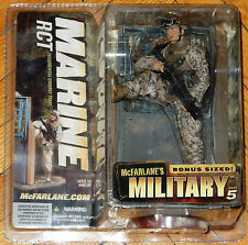 MCFARLANE MILITARY SERIES 5 MARINE RCT AIR FORCE ARMY NAVY ACTION FIGURE MIB